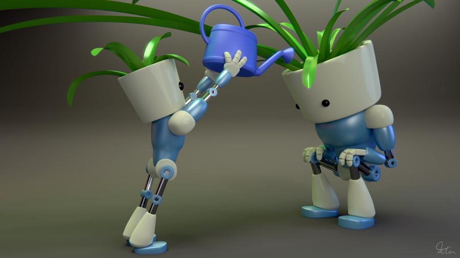 Robot care